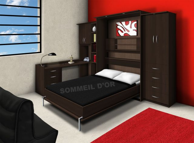 k020 lit escamotable lit escamotable. Black Bedroom Furniture Sets. Home Design Ideas