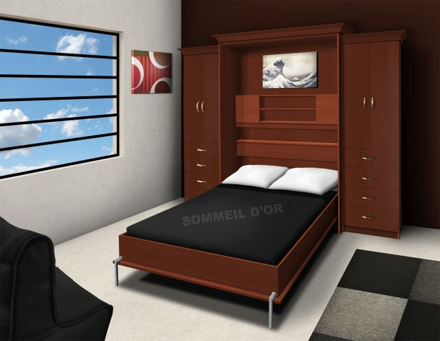 k025 lit escamotable lit escamotable. Black Bedroom Furniture Sets. Home Design Ideas